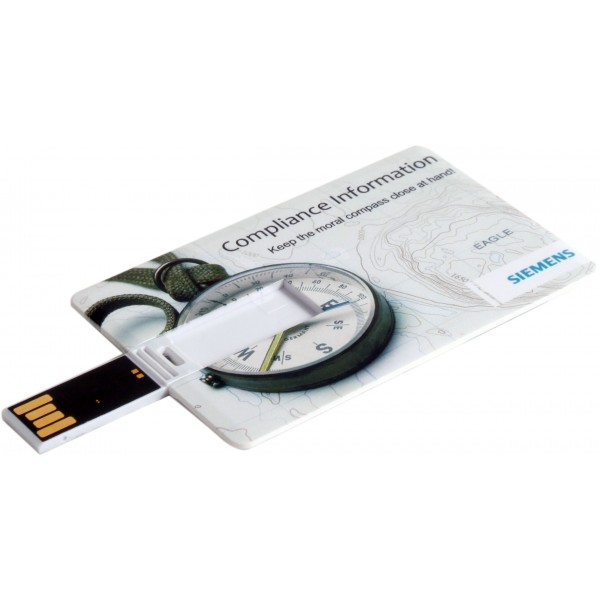 Флешки Business card USB 2.0